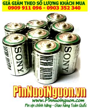 Pin Sony SUM1, R20; Pin đại D 1.5v Sony New Ultra SUM1  R20P _ Vỉ 2viên | HẾT HÀNG