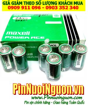 COMBO 1HỘP 20viên Pin đại D 1.5v Maxell R20S,SUM-1 Power ACE -Giá chỉ 150.000vnd/ HỘp 20viên |HẾT HÀNG