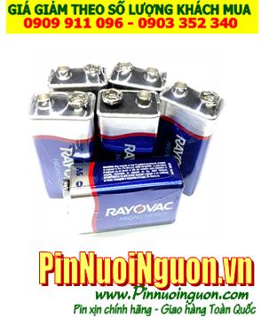 Pin Rayovac 6LF22, MN1604B; Pin 9v Alkaline Rayovac 6LF22, MN1604B Made in USA [ĐVT: 1viên]