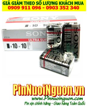 COMBO 1HỘP 10viên Pin 9v Sony New Ultra 6F22 -Giá chỉ 115.000vnd/ HỘP 10viên | HẾT HÀNG