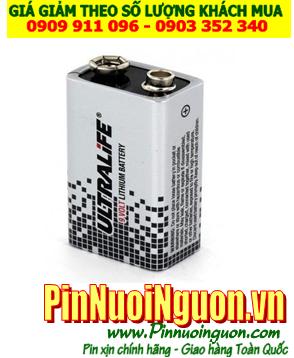 Pin Ultralife U9VL-JP, PP3; Pin 9v Lithium Ultralife U9VL-JP _ 1viên | HẾT HÀNG, sử dụng FANSO ER-9V thay thế