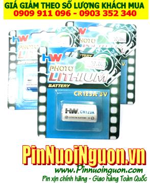 Pin HW CR2, CR15H270; Pin CR2, CR15H270; Pin 3v PhotoLithium HW CR2, CR15H270 _ Vỉ 1viên
