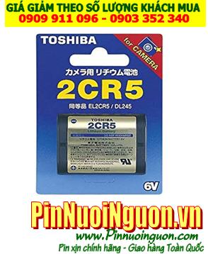Pin Toshiba 2CR5; Pin 2CR5; Pin 6v Lithium Toshiba 2CR5 _ Vỉ 1viên| HẾT HÀNG