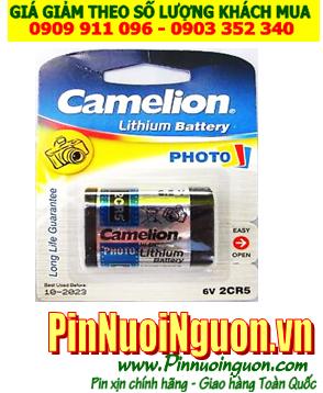 Pin Camelion 2CR5; Pin 6v PhotoLithium Camelion 2CR5 _ Vỉ 1viên | HẾT HÀNG