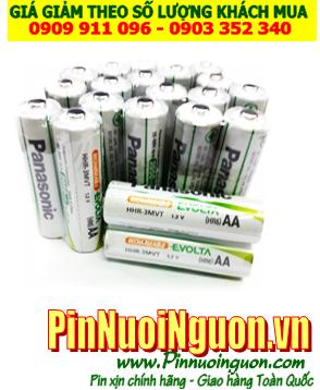 Panasonic HHR-3MVT; Pin sạc AA 1.2v Panasonic Evolta HHR-3MVT (AA2050mAh) _ Vỉ 2viên