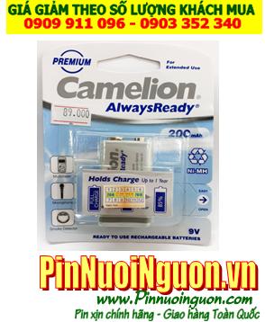 Camelion NH-9V200ARBP1; Pin sạc 9v NH-9V200ARBP1 (200mAh) AlwaysReady _Vỉ 1viên