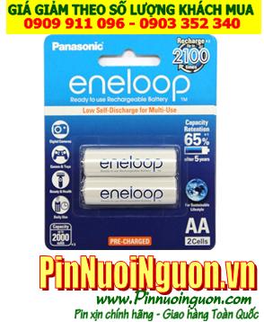 Pin sạc AA Eneloop BK-3MCCE/2BT - AA1900mAh - loại thế hệ mới sạc đến 2100 lần   hàng đang có sẳn