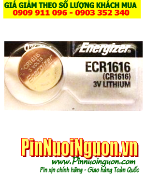 Pin CR1616 _Pin Energizer CR1616; Pin 3v lithium Energizer CR1616 _Made in Japan _1viên |HẾT HÀNG