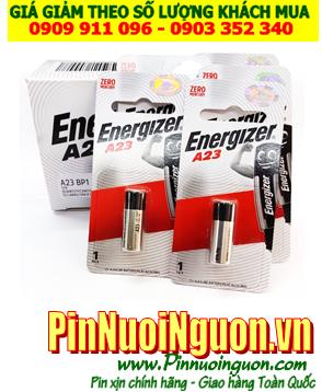 Pin 12v _Pin A23 _Pin Energizer A23; Pin 12v Alkaline Energizer A23 Pin Remote _Vỉ 1viên