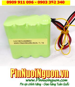 Pin máy đo điện tim 9.6v-18650-4500mAh; Thay pin máy đo điện tim 9.6v-4/3AF-4500mAh chính hãng| CÒN HÀNG