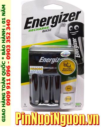 Energizer CHVC4; Máy sạc pin AA-AAA Energizer CHVC4 _Sạc được 1,2,3,4 pin AA-AAA (không kèm Pin) _Mẫu mới