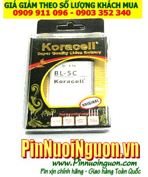 Pin điện thoại di động Nokia BL-5C Li-On 1150mAh 3.7V |BP-NK-5C-1150| hàng có sẳn-Bảo hành 1 năm