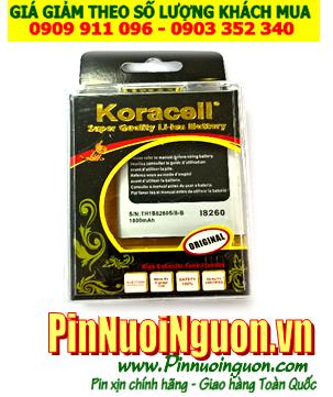 Pin điện thoại Samsung Galaxy I8260 - 1700mAh - 3.7v chính hãng Koracell | có sẳn hàng-Bảo hành 1 năm