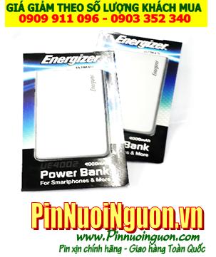 Pin sạc dự phòng Energizer 4000mAh, UE4002 công nghệ mới chính hãng Energizer | có sẳn hàng