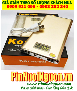 Pin sạc dự phòng di động Koracell KORA011 - 12,000mAh siêu xịn đúng chuẩn-đúng dung lượng