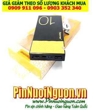 Pin sạc dự phòng HAMMER 10 với dung lượng 10 000mAh chính hãng| BẢO HÀNH 1 NĂM-ĐANG CÒN HÀNG