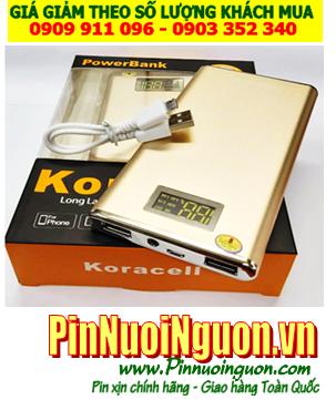 Pin sạc dự phòng Ipad, Pin sạc dự phòng Tablet KORA-011 với dung lượng 12,000mAh đúng chuẩn-đúng dung lượng chính hãng Koracell | Bảo hành 1 năm