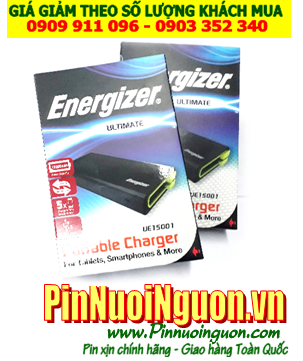 Pin sạc dự phòng Energizer Ultimate UE15001 với 15 000mAh chính hãng Energizer | có sẳn hàng - Bảo hành 1 năm
