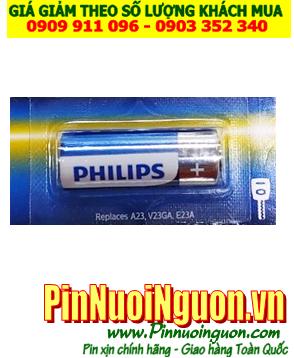 Pin 12v _Pin A23; Pin Philips A23 V23GA E23A Alkaline 12v _Pin Remote _1viên