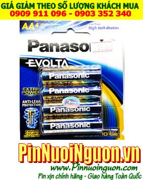 Panasonic LR6EG/4B; Pin AA 1.5v Panasonic Evolta LR6EG/4B Made in Thailand | Vỉ 4viên
