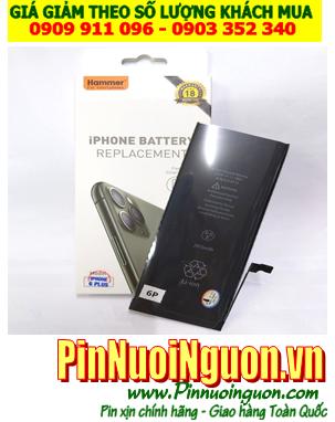 Pin iPhone 6P; Pin điện thoại di động iPhone 6P 3580mAh chính hãng Hammer _Bảo hành 18 tháng