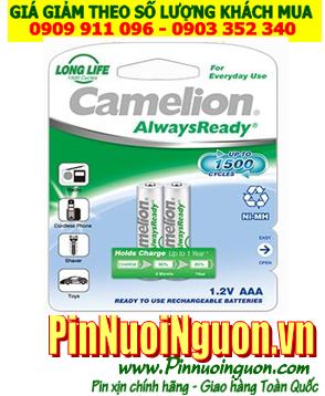 Pin điện thoại bàn không dây 1,2V NH-AAA600ARBP2 size AAA 600mAh chính hãng Camelion Đức | Hàng có sẳn