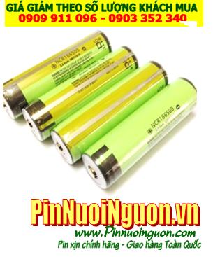Pin sạc 3.7v Panasonic NCR18650B Lithium Li-Ion 3400mAh đã gắn thêm mạch sẳn   TẠM HẾT HÀNG