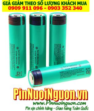 Pin sạc Li-Ion 3,7V Panasonic NCR18650A - 3100mAh  với dòng xả 10A chính hãng Panasonic Nhật - Made in Japan   TẠM HẾT HÀNG