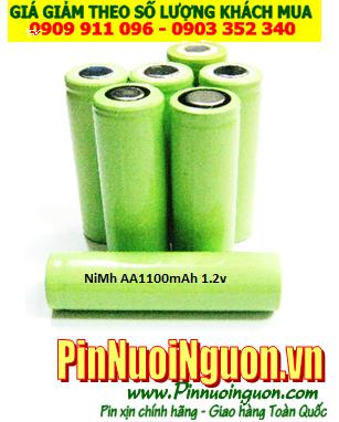 Pin sạc công nghiệp NiMh 1,2v AA1100mAh - Pin cell công nghiệp đầu bằng NiMh 1,2v AA1100mAh | có sẳn hàng