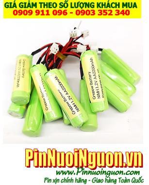 Pin sạc 1,2V-AA1800mAh, Pin sạc công nghiệp NiMh-NiCd 1,2V-AA1800mAh chính hãng | Hàng có sẳn