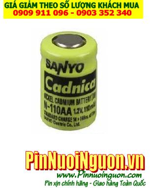 Sanyo Cadnica N-110AA; Pin sạc Sanyo Cadnica N110-AA 1/2AA