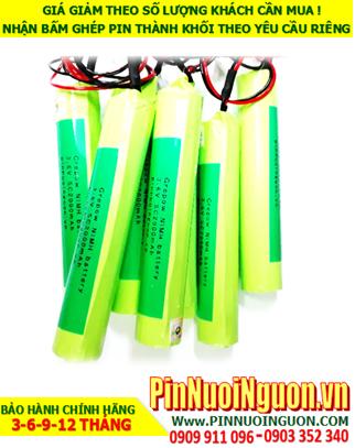 Pin đèn Exit , Pin đèn khẩn cấp 3.6V-1800mAh, Pin đèn khẩn cấp sự cố 3.6v-SC1800mAh |hàng có sẳn-Bảo hành 1 NĂM