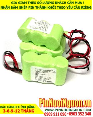 Pin đèn Exit - Pin đèn thoát hiểm khẩn cấp 3,6V-C2500mAh NiMh-NiCd | Có sẳn hàng - Bảo hành 1 năm