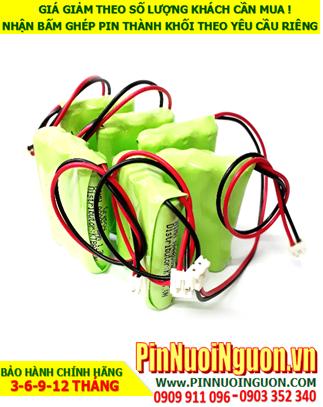 Pin sạc 3.6v-AAA800mAh; Pin đèn Exit 3.6v-AAA800mAh; Pin đèn sự số 3.6v-AAA800mAh; Pin đèn khẩn cấp 3.6v-AAA800mAh