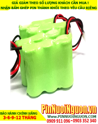 Pin đèn exit 3.6V-AA1400mAhNiMh-NiCd, Pin đèn khẩn cấp 3.6V-AA1400mAhNiMh-NiCdh, Pin đèn thoát hiểm 3.6V-AA1400mAhNiMh-NiCd-Bảo hành 1 năm