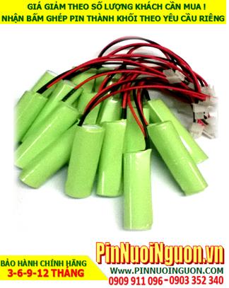 Pin đèn Exit 3,6vSC2000mAh, Pin đèn thoát hiểm 3,6vSC2000mAh, Pin đèn khẩn cấp 3,6vSC2000mAh | Bảo hành 1 năm