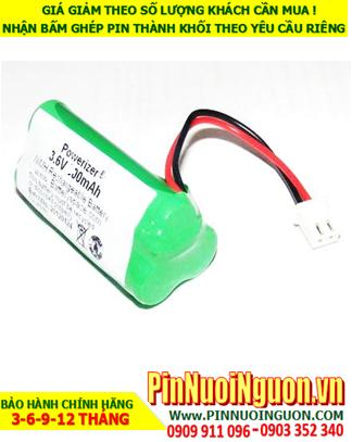 Pin đèn Exit 3.6v-AA700mAh, Pin đèn khẩn cấp 3.6v-AA700mAh; Pin đèn sự cố 3.6v-AA700mAh; Pin sạc 3.6v-AA700mAh