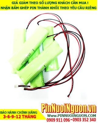 Pin đèn khẩn cấp 4.8v AA700mAh, Pin đèn exit 4.8v AA700mAh, Pin đèn chiếu sáng 4.8v AA700mAh; Pin đèn sự cố 4.8v AA700mAh