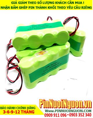 Pin đèn exit 4.8v SC2000mAh, Pin đèn khẩn cấp 4.8V-SC2000mAh; Pin đèn sự cố 4.8v SC2000mAh,; Pin sạc NiMh 4.8v SC2000mAh,