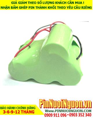 Pin đèn exit 4.8v C4500mAh, Pin đèn khẩn cấp 4.8v C4500mAh; Pin đèn thoát hiểm 4.8v C4500mAh; Pin sạc NiMh 4.8v C4500mAh