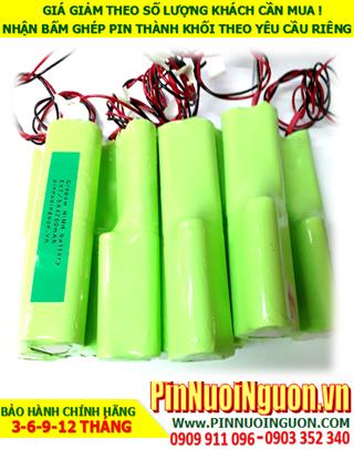 Pin đèn exit 6V-18670-4200mAh, Pin đèn khẩn cấp 6V-18670-4200mAh, Pin đèn thoát hiểm 6V-18670-4200mAh-Bảo hành 1 năm