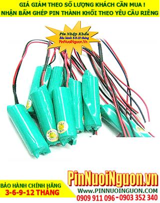 Pin sạc đèn Exit Paragon 2.4v-AA1500mAh, Pin đèn khẩn cấp thoát hiểm Paragon 2.4v-AA1500mAh chính hãng có chứng chỉ C/O nhà máy| Bảo hành 06 tháng