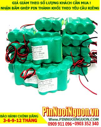 Pin sạc đèn Exit Paragon 3.6V-SC2000mAh, Pin đèn khẩn cấp thoát hiểm Paragon 3.6v-SC2000mAh chính hãng có chứng chỉ C/O nhà máy| Bảo hành 1 năm