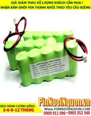 Pin sạc đèn Exit Paragon 6v-C2500mAh, Pin đèn khẩn cấp thoát hiểm Paragon 6v-C2500mAh chính hãng có chứng chỉ C/O nhà máy| Bảo hành 1 năm