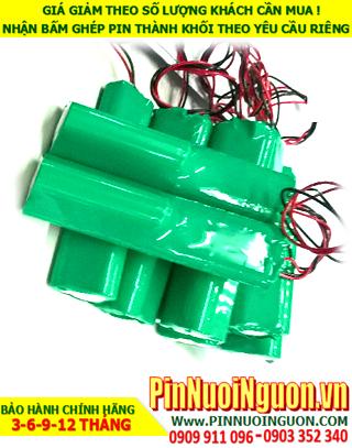 Pin sạc đèn Exit Paragon 6v-4200mAh-18670, Pin đèn khẩn cấp thoát hiểm Paragon 6v-4200mAh chính hãng có chứng chỉ C/O nhà máy| Bảo hành 1 năm