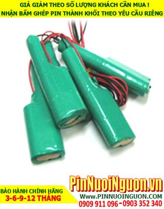 Pin sạc đèn Exit Paragon 6v-AA2200mAh, Pin đèn khẩn cấp thoát hiểm Paragon 6v-AA2200mAh chính hãng có chứng chỉ C/O nhà máy| Bảo hành 1 năm