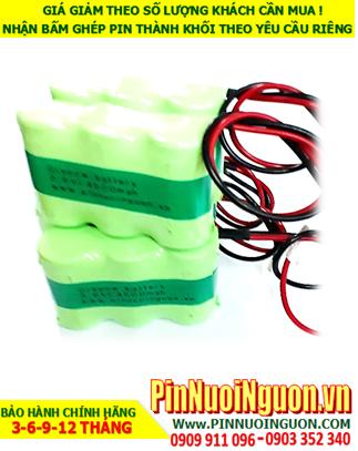 Pin sạc đèn Exit Paragon 3.6V-C4500mAh, Pin đèn khẩn cấp thoát hiểm Paragon 3.6v-C4500mAh chính hãng có chứng chỉ C/O nhà máy| Bảo hành 1 năm