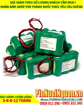 Pin sạc đèn Exit Paragon 3.6V-SC1500mAh, Pin đèn khẩn cấp thoát hiểm Paragon 3.6v-SC1500mAh chính hãng có chứng chỉ C/O nhà máy| Bảo hành 1 năm