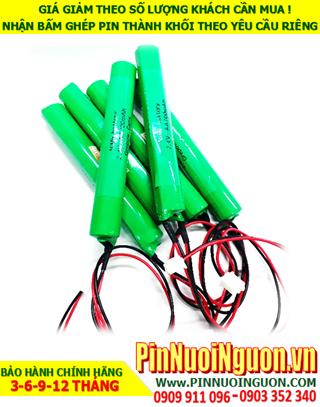 Pin sạc đèn Exit Paragon 2.4v-AAA950mAh, Pin đèn khẩn cấp thoát hiểm Paragon 2.4v-AAA950mAh chính hãng có chứng chỉ C/O nhà máy| Bảo hành 06 tháng