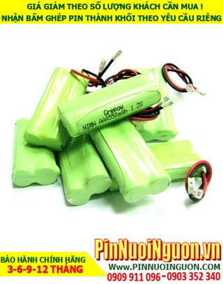 Pin sạc 2.4v AAA500mAh; Pin sạc NiMh NiCd 2.4v AAA500mAh; Pin sạc khối 2.4v AAA500mAh; Pin sạc công nghiệp 2.4v AAA500mAh